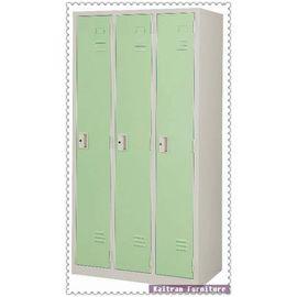 ~K220~04  3人~鋼製衣櫥^(綠^)~3人鋼製衣櫃~內務櫃~三人衣櫃~三人衣櫥~綠