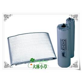 大林小草~【910 】犀牛RHINO 高級PE發泡 雙人 鋁箔睡墊 2mm (長200x寬100公分)