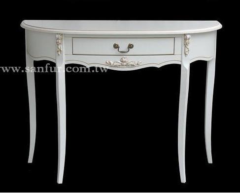玄关桌.欧式白色