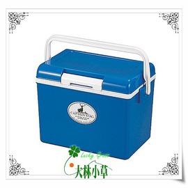 大林小草~【M-8175】日本鹿牌 CAPTAIN STAG 鹿王日本原裝保冷冰箱冰桶14公升(藍) M8175