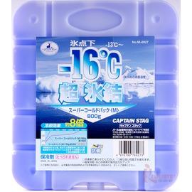 M-6927 CAPTAIN STAG 日本鹿牌抗菌超凍媒-16度C冰磚保冷磚(大)800g日本製