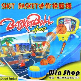 【Q禮品】迷你投籃機/桌上型攜帶方便投籃籃球機兒童玩具