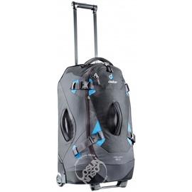 德國 Deuter Helion60 60L(28吋 靜音輪)自助旅行背包.直立式拉捍行李箱.後背軟式旅行箱.洽公辦公出國旅行_ 35842 黑/藍 (非eagle creek)