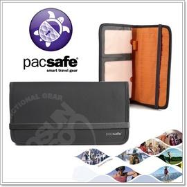【Pacsafe】NEW!!!!!! RFIDsafe 200 貼身防盜護照包.零錢包.貼身.RFID的護照保護/深灰 PE322SH
