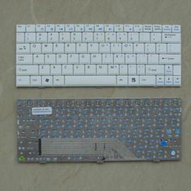~筆記型鍵盤更換~微星 MSI U100 U100X U120 U90X 中文鍵盤~白色~