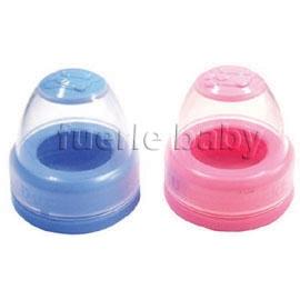 KUKU酷咕鴨雙色寬口奶瓶蓋