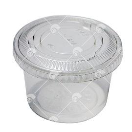 【艾佳】透明果凍杯A-140/10入(含蓋)
