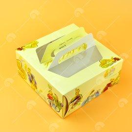 【艾佳】6吋精緻手提派盒(C6-M3)/個