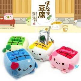 超人氣豆腐手機座墊/ 超柔毛絨豆腐塊手機保護座/ 搖控器座