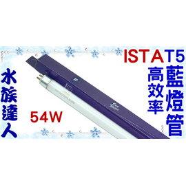 【水族達人】【T5燈管】伊士達ISTA《T5高效率藍燈管(海水藍燈管) 54W T5-826》超明亮!