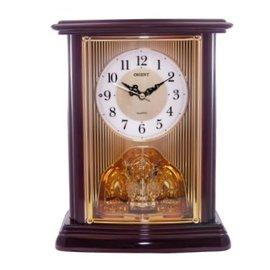 TRM001 OREINT 座鐘^(咖啡^) 東方 座鐘 音樂座鐘 整點報時座鐘