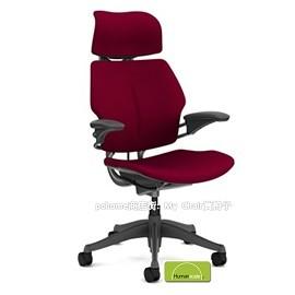 Freedom 紅色 ^| 布凝膠 ^| 鈦色骨架 ^(升降扶手^) 特節 價.聰慧的椅子