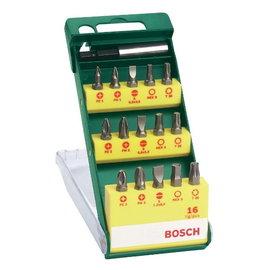 BOSCH博世 15支螺絲起子頭套裝★適合各品牌電動工具