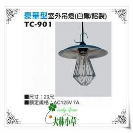 大林小草~【TC-901】豪華型室外吊燈(鋁製)  萬用吊燈 20尺,露營燈、夜市燈、工作燈