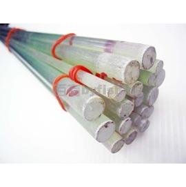 ~百有釣具~玻璃纖維水晶尾 長120cm 元徑6mm ~釣竿DIY加工