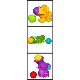 PlaySkool兒樂寶擠擠樂彈跳玩球遊戲(有獅子/鱷魚/大象三款可選擇!!!)    *最新款,活潑可愛!!!*