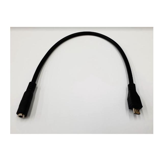 nokia 8600 micro usb轉3.5mm耳機(母) 手機轉電腦/音箱/mp3 耳機線/轉接線/傳輸線 [JIO-00015]