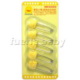 黃色小鴨造型安全別針