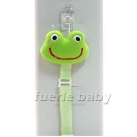DuDu青蛙奶嘴鍊-動物組
