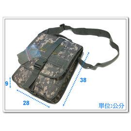 二王軍警防身 用品~~美軍洽公袋ACU 迷彩A13~2 鐵氟龍防水  ~軍用品~裝備~ ~