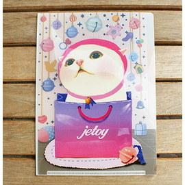 ~YOOWOO~ ~韓國 Jetoy Triple File 三層分頁 A5 文件夾 資料