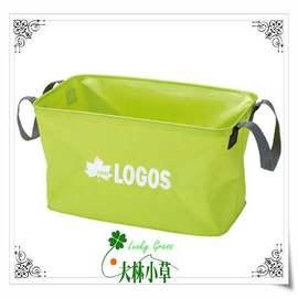 大林小草~【88230140】LOGOS 水長流防水提袋 CI50、水桶、洗碗洗菜桶-國旅卡