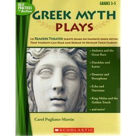~讀者劇場教師用書~Greek Myth Plays Grades 3~5^(For Sc
