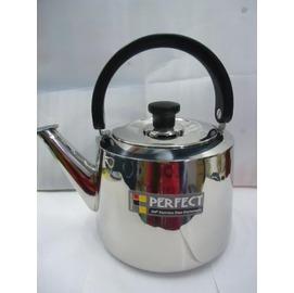 【PERFECT】4L ◆適用:電磁爐、紅外線爐、瓦斯爐、鹵素爐、電爐◆不銹鋼笛音壺/茶壺/水壺