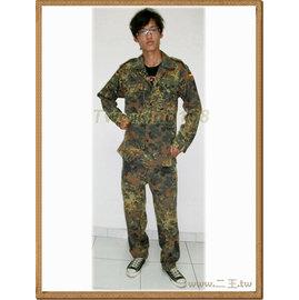軍用品~~德軍迷彩服上衣^( ^)~迷彩服~~野戰服~~生存遊戲~