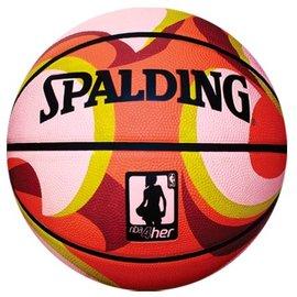 ^~橙色桔團^~^~橙色桔團^~SPALDING斯伯丁 WNBA 幻彩系列 6號女子籃球
