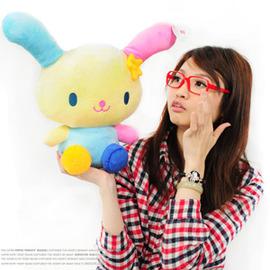 可愛花花兔娃娃 P002-2010(兔子娃娃.絨毛娃娃.kitty系列玩偶.動物玩偶.正版授權.便宜)