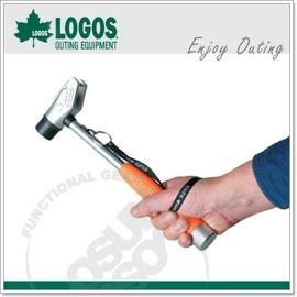 【日本 LOGOS】多用途三寶營鎚-鎚頭可交換橡膠頭、鐵鎚,拔釘鉤.營鎚.槌子.鐵鎚.木槌.露營.戶外必需品 71996509