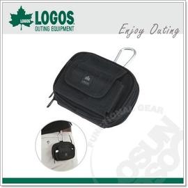 【日本 LOGOS】Hip Cargo No.7 手機&物件多用途收納袋-可搭皮帶附勾環.可當隨身腰包/工具包/文具袋.適露營.登山.自行車.工作 88220070