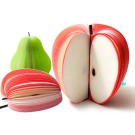 桃子造型水果便條紙 /水果便條紙