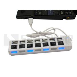 ~Safehome~插座型 有7個各別開關不需插拔 USB 2.0 7~ PORT USB
