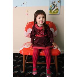 M: 小溪鳴  韓國首爾正貨 韓單 品牌ANNIKA原單~典雅的牧羊女 酒紅色小洋裝 可正