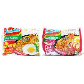 【吉嘉食品】印尼炒麵/印尼泡麵/速食撈麵/營多麵(原味/辣味).10包85元,有名又好吃的印尼泡麵