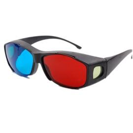 高檔樹脂全框架 3D立體眼鏡/3D紅藍眼鏡