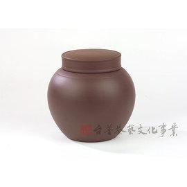 ~雅品苑茶莊~TPG~D01_~宜興紫沙茶葉罐_雙線圓~^(一斤^)_醒茶罐.茶具.茶用品