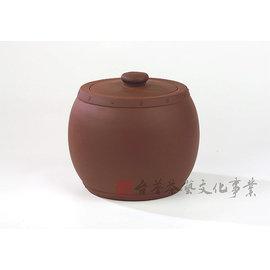 ~雅品苑茶莊~TPG~D02_~宜興紫沙茶葉罐_小圓鼓~^(一斤^)_醒茶罐.茶具.茶用品