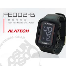 【ALATECH】多功能健身腕錶.車錶.手錶.運動錶.跑步路跑.三鐵健身.自行車/全黑 FE002-B(缺貨中)