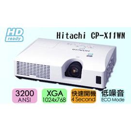 Hitachi CP~X11WN 日系高畫質投影機 加贈無線網卡 更可完整支援 HD畫質影