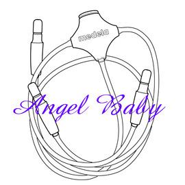 瑞士【Medela 美樂】Free-Style 專用透明吸管
