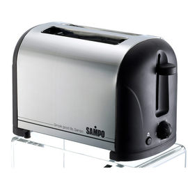 SAMPO聲寶不鏽鋼外觀、可烤厚片、烘烤濃度調整功能五段式烤麵包機 TR-LA60S  *** 免運費 ***