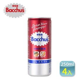 ~康熙藥妝~~Bacchus 保佳適 能量飲料~氣泡^(250ml 瓶^)~4瓶,韓國 飲