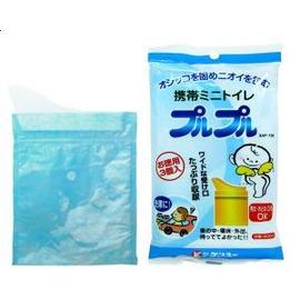 【紫貝殼】『JO20120』日本原裝進口*外出攜帶防臭尿袋/緊急尿袋 旅行塞車必備 日本製(3枚)【店面經營/可預約看貨】
