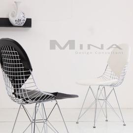 ^~ Eames 座椅 ^~ 復刻版 WIRE CHAIR DKR~2 鋼絲椅