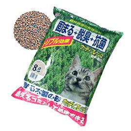 ~ IRIS~WF~80~清香凝結木製貓砂 8L