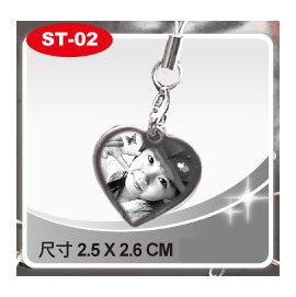 金屬雕刻 ST~02~精緻吊飾~愛心