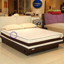 美國Debbie黛比^~AirCool涼感水冷膠棉^~3.5x6.2尺單人獨立筒床墊 送純